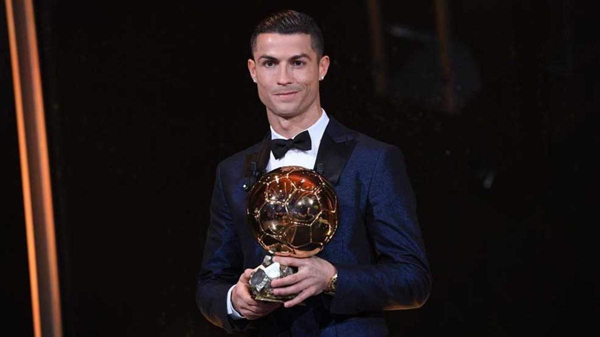 Los Balones de Oro de Cristiano Ronaldo