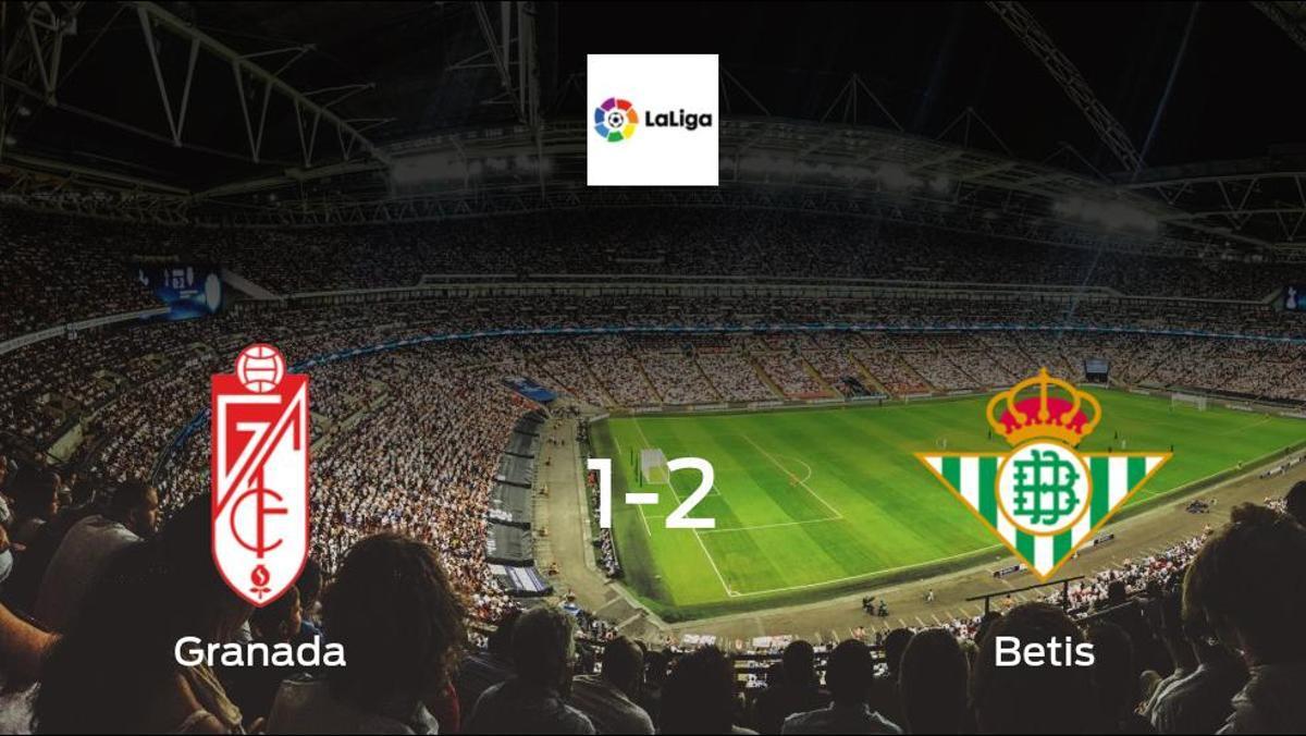 Visitors secure victory as Betis beat Granada 2-1