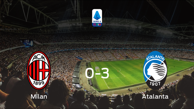 El Atalanta le arrebata los tres puntos al AC Milan (0-3)