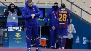 El Barça dio un claro paso atrás en la final de la Supercopa