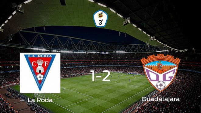 El Guadalajara se lleva el triunfo después de vencer 1-2 a La Roda