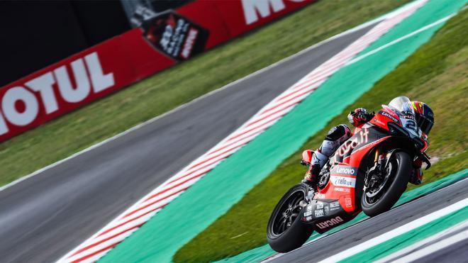 Rinaldi ha liderado las dos primeras sesiones libres en el GP de Italia-Emilia-Romagna
