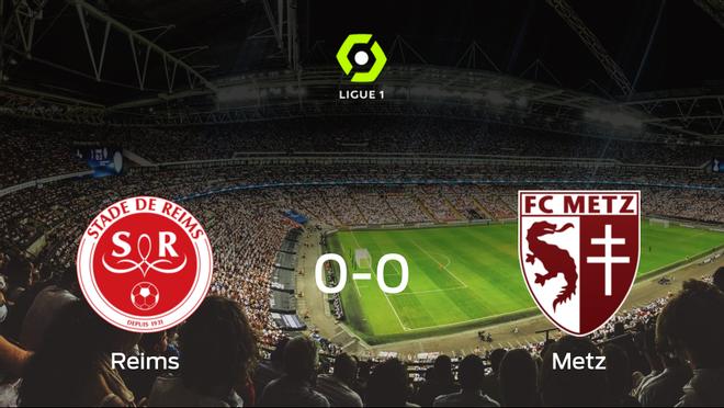 El Stade de Reims y el FC Metz concluyen su enfrentamiento en el Auguste-Delaune sin goles (0-0)