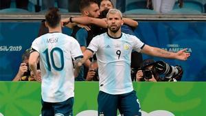 Agüero y Messi, mucho más que compañeros de selección