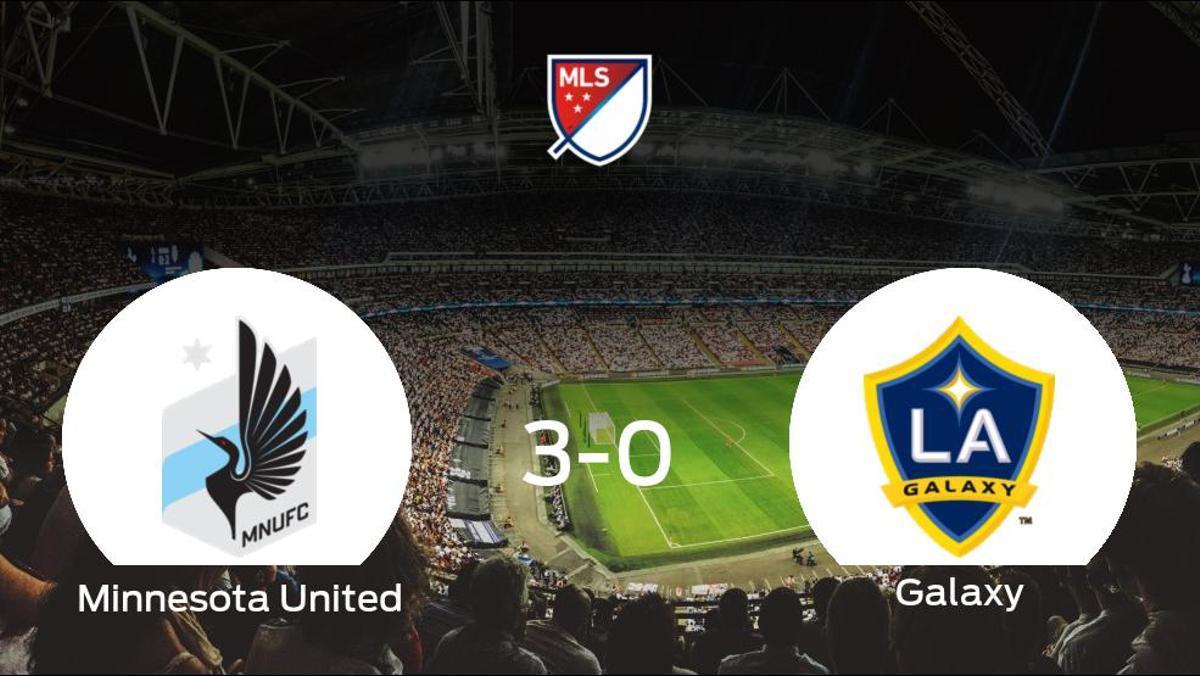 Tres puntos para el casillero del Minnesota United tras golear al LA Galaxy (3-0)