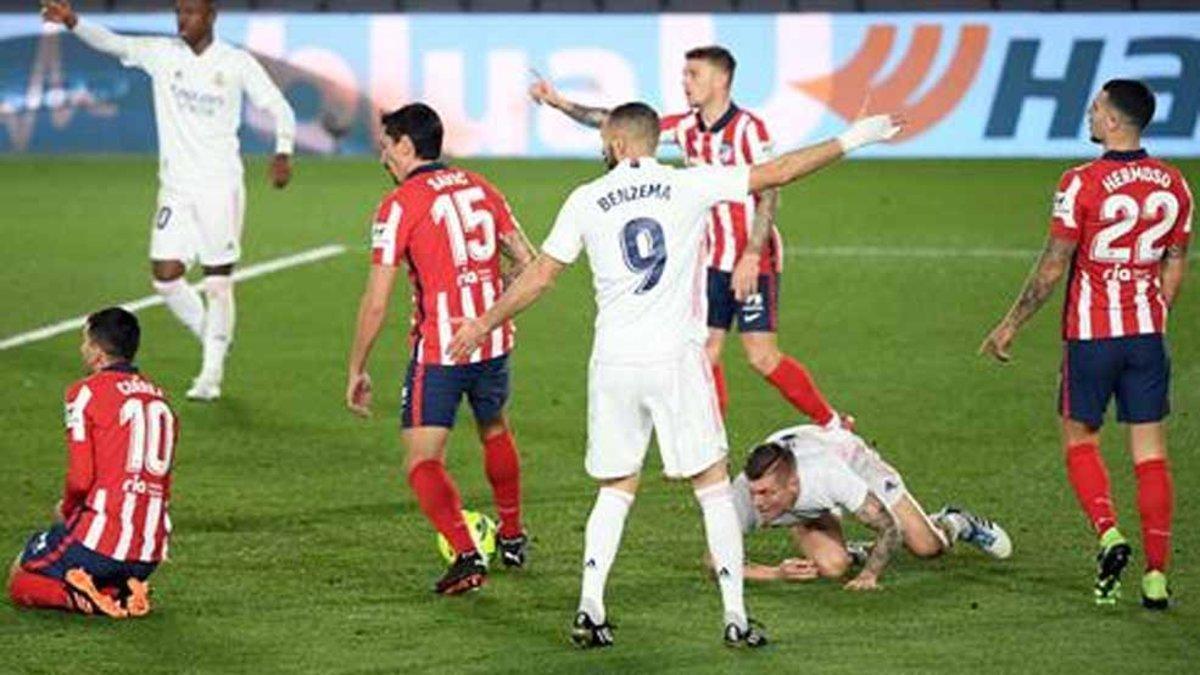 Partido histórico para Benzema el de este sábado contra el Atlético de Madrid en Valdebebas