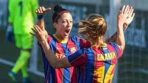Jenni Hermoso y Caroline Graham Hansen, dos de las mejores culés del 2020