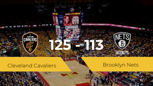 Cleveland Cavaliers consigue vencer a Brooklyn Nets (125-113)