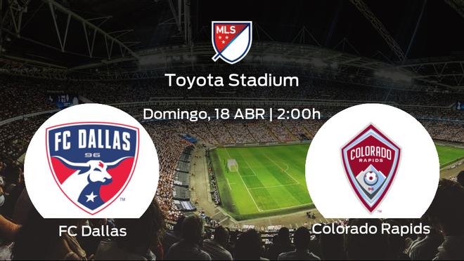 Previa del partido: el FC Dallas y el Colorado Rapids se enfrentan en su primer duelo en la Major League Soccer