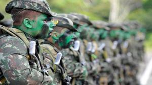 El ejército brasileño imparte entrenamiento en el Congo