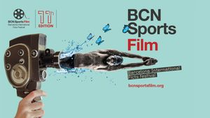 Cartel de la 11ª edición BCN Sports Film Festival