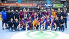 El FC Barcelona, campeón de la Supercopa de Catalunya