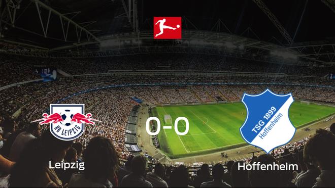 El RB Leipzig y el Hoffenheim concluyen su enfrentamiento en el Red Bull Arena sin goles (0-0)