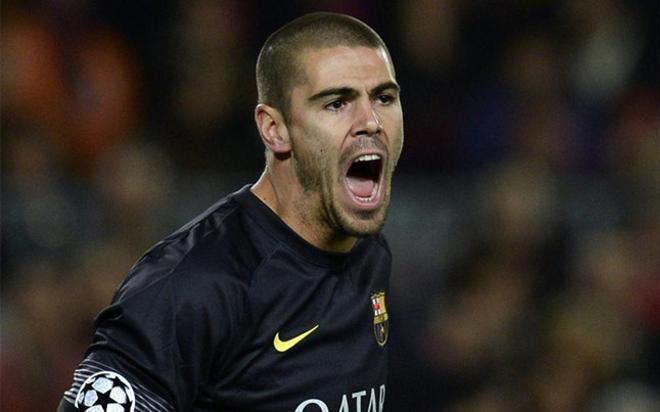 Valdés se entrena en solitario a la espera de equipo