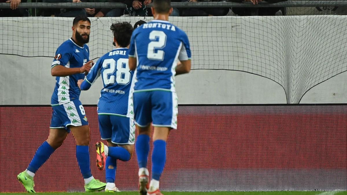 El gol de Fekir ante el Ferencváros