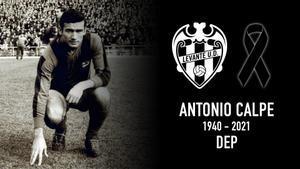 Antonio Calpe, jugador histórico del Levante UD