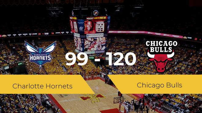 Chicago Bulls vence a Charlotte Hornets (99-120)