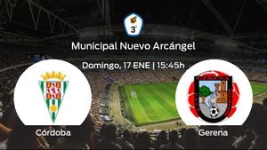 Previa del encuentro: el Córdoba B recibe al Gerena en la duodécima jornada