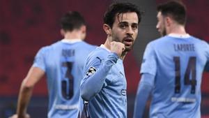 Bernardo Silva adelantó al City con este gol