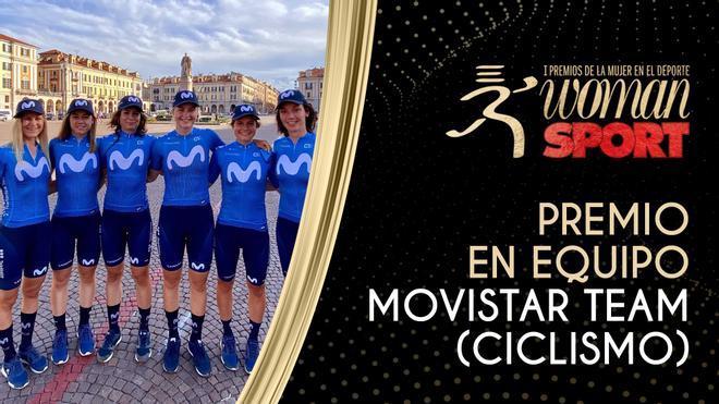 Premio Equipo: Movistar Team, la igualdad como meta a cruzar