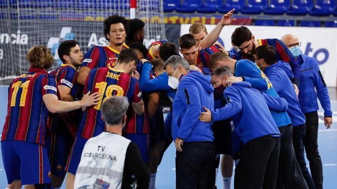 ¡El Barça conquistó su undécima Liga Asobal consecutiva!