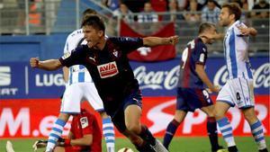LALIGA | Eibar - Real Sociedad (2-1): Debut y gol de Marc Cardona