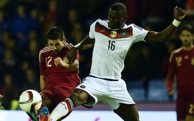 Rüdiger no podrá disputar la Eurocopa tras lesionarse en Évian