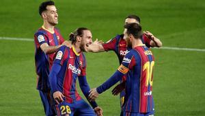 El Barça, lanzado hacia la Liga