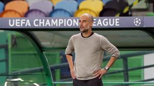 Pep Guardiola en una imagen de archivo