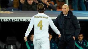 Zidane: ¿Sergio Ramos? En el fútbol nunca se sabe
