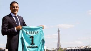 Keylor Navas no jugó la Copa de oro de la Concacaf