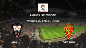 Previa del encuentro: el Albacete recibe al Real Zaragoza