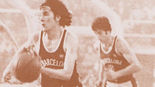 Miguel López Abril, en su etapa como barcelonista