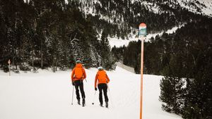 Esquí de montaña, raquetas y esquí de fondo según datos de Strava, triunfaron en Navidad