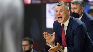 """Jasikevicius: """"Ante el Madrid, hemos de ser duros mental y físicamente"""""""