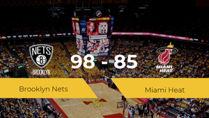 Victoria de Brooklyn Nets ante Miami Heat por 98-85