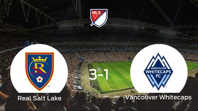 El Real Salt Lake vence 3-1 al Vancouver Whitecaps