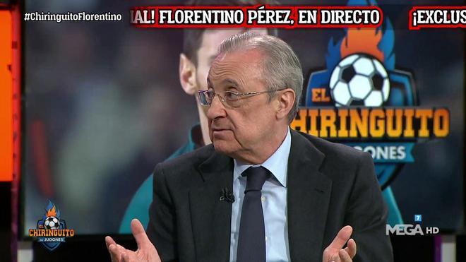 Florentino Pérez carga contra la transparencia de la UEFA: Sé lo que gana Lebron James pero no su presidente