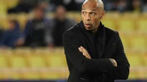 Thierry Henry en un encuentro