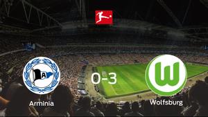 Goleada del VfL Wolfsburg ante el Arminia Bielefeld (0-3)