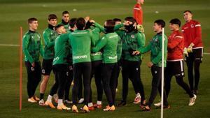En la Real Sociedad trabajan convencidos de llegar a la final de la Supercopa