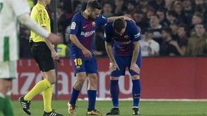 LALIGA | Betis - FC Barcelona (0-5): La lesión de Vermaelen