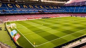 El Camp Nou solo acogerá a 20.000 aficionados en el Gamper