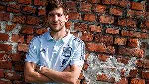 Sergi Roberto, sobre su posición: Como centrocampista es donde más disfruto