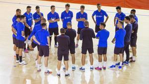 El Barça ya prepara la visita del Palma Futsal el domingo en el Palau