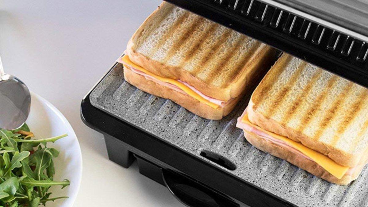Cinco sandwicheras para comer sano en verano