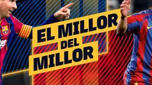 El homenajde del Barça a Messi