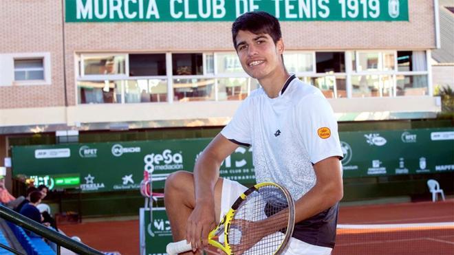 Alcaraz, con ganas de debutar en el Barcelona Open Banc Sabadell