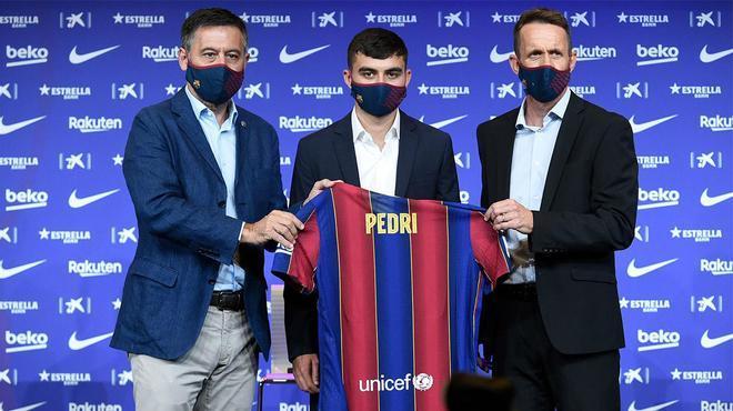 Pedri ya ha firmado contrato como nuevo jugador del FC Barcelona