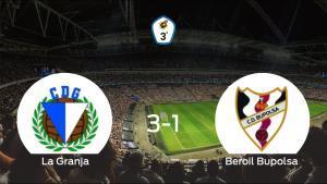 La Granja gana al Beroil Bupolsa por 3-1